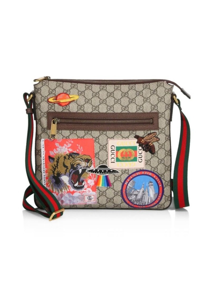 39838cdf12ac95 Gucci GG Patches Messenger Bag | Bags