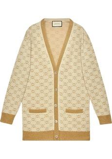 Gucci GG pattern buttoned cardigan