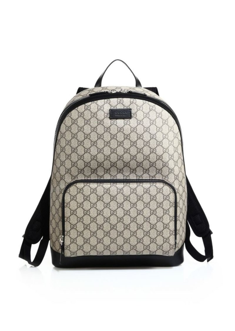 e384f5e70ba Gucci GG Supreme Canvas Backpack