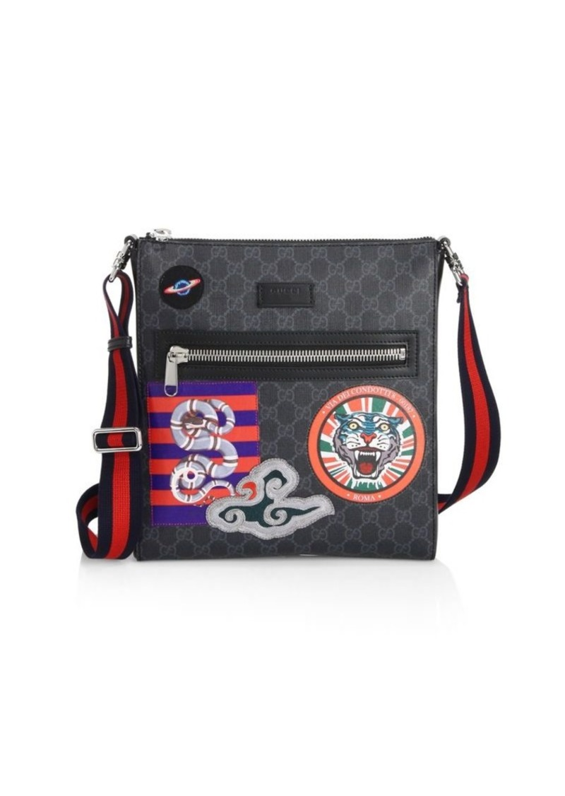 879e77fb146d Gucci GG Supreme Multicolor Patch Canvas Messenger Bag | Bags
