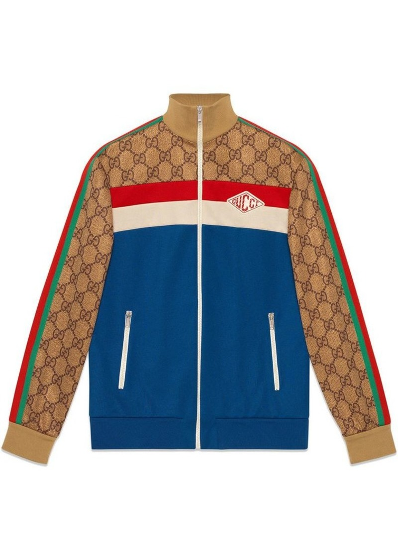 d35165cc4 Gucci GG technical jersey jacket | Outerwear