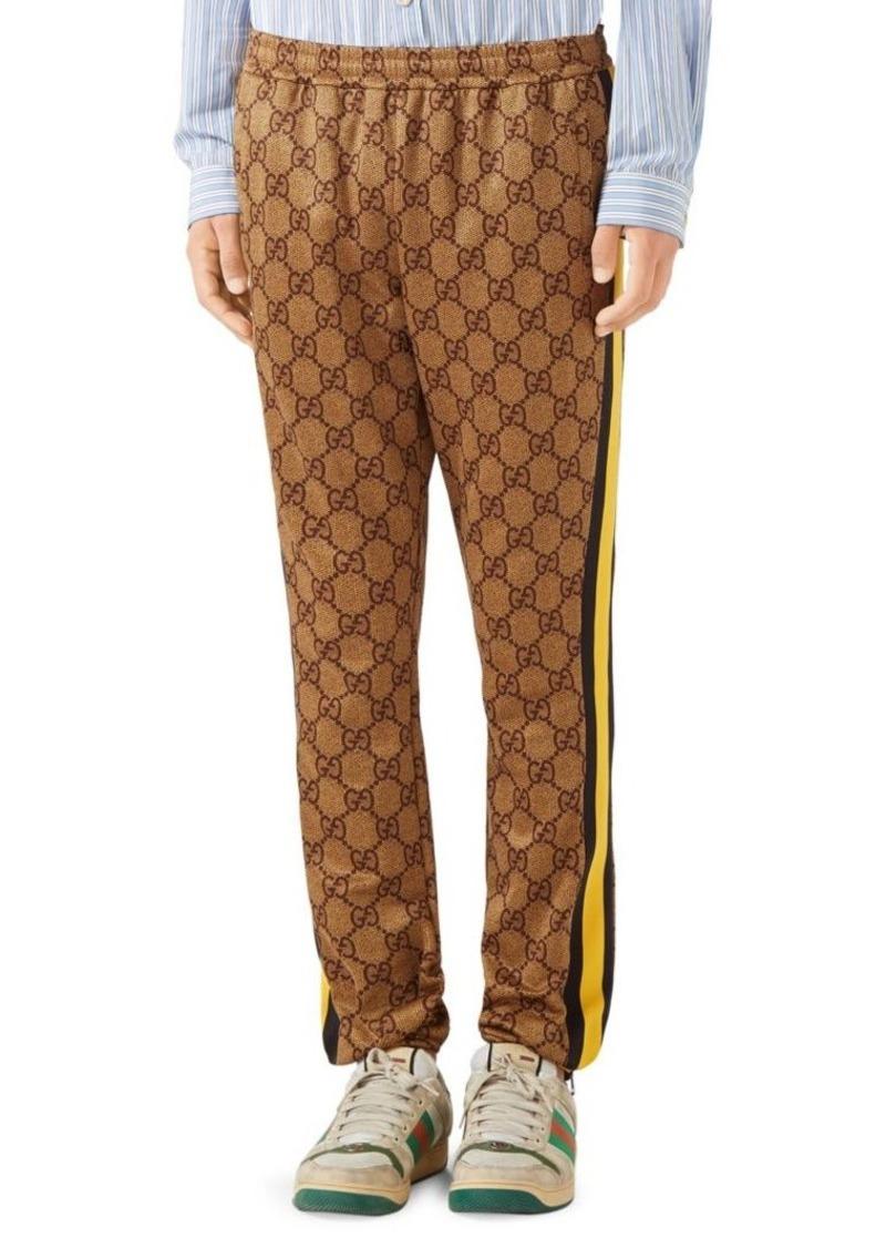 db7ba65f2bfba Gucci GG Technical Jersey Jogging Pant
