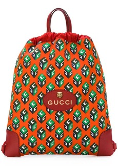 Gucci GG Wallpaper drawstring backpack