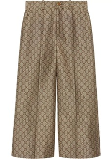 Gucci GG wool canvas culotte pant