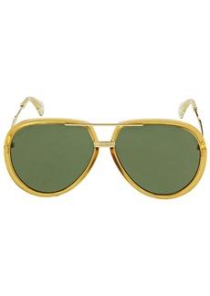 Gucci Gg0904s Pilot Sunglasses