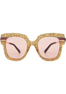 Gucci Glitter Sunglasses