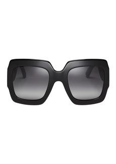 Gucci Glitter Square Sunglasses
