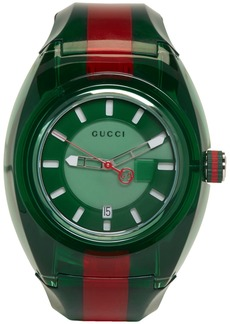 Gucci Green & Red G-Sync Watch