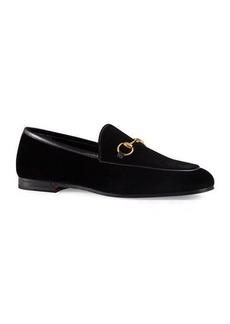 Gucci 10mm New Jordaan Velvet Loafer