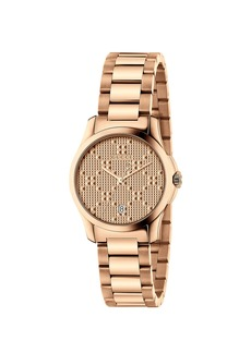 Gucci 27MM G-Timeless Bracelet Watch