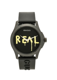 """Gucci 38MM G-Timeless """"REAL"""" Motif Watch"""