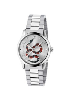 Gucci 38MM G-Timeless Snake Bracelet Watch