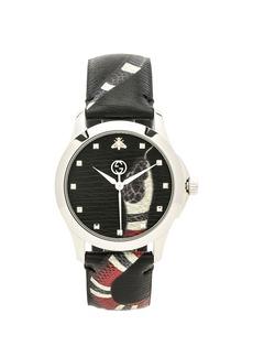 Gucci 38MM Le Marche des Merveilles Printed Snake Watch