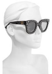 8c226144063b Gucci 49mm Swarovski Crystal Embellished Square Sunglasses Gucci 49mm Swarovski  Crystal Embellished Square Sunglasses
