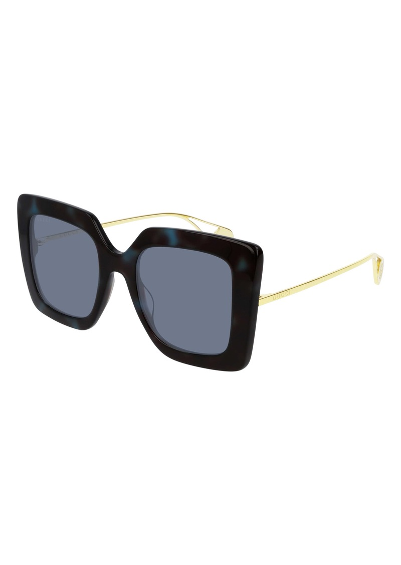 Gucci 51mm Square Sunglasses