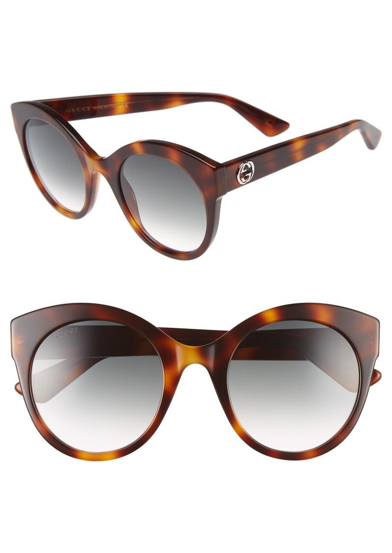 2b5c76d34c Gucci Gucci 52mm Cat Eye Sunglasses