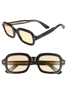 Gucci 52mm Sunglasses
