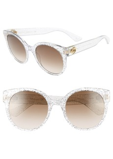 Gucci 54mm Glitter Sunglasses