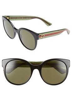 Gucci 54mm Retro Sunglasses