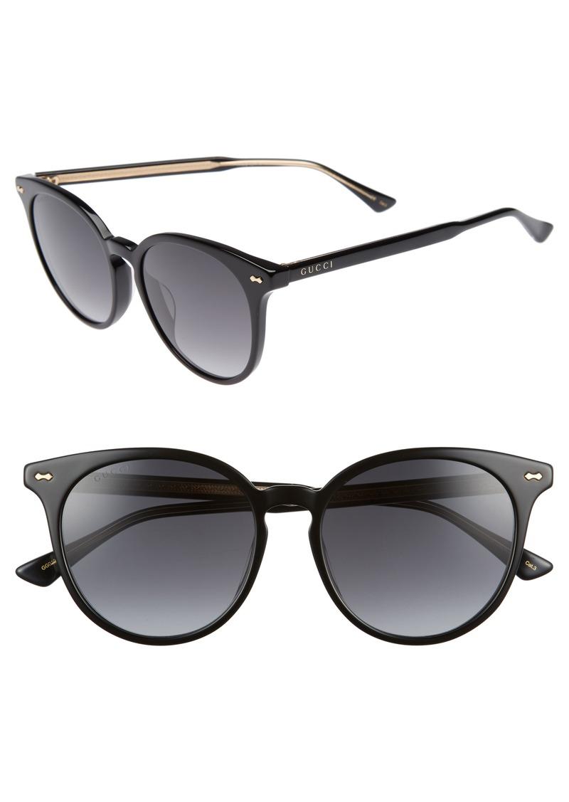6786412b3fe Gucci Gucci 55mm Round Cat Eye Sunglasses