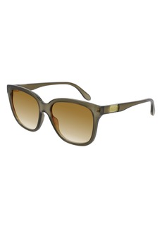 Gucci 56mm Gradient Square Sunglasses