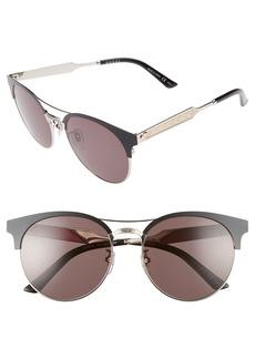 Gucci 56mm Retro Sunglasses
