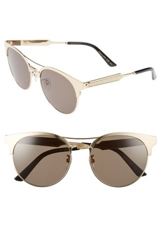 Gucci 56mm Retro Sunglasses