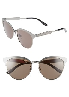 Gucci 57mm Retro Sunglasses