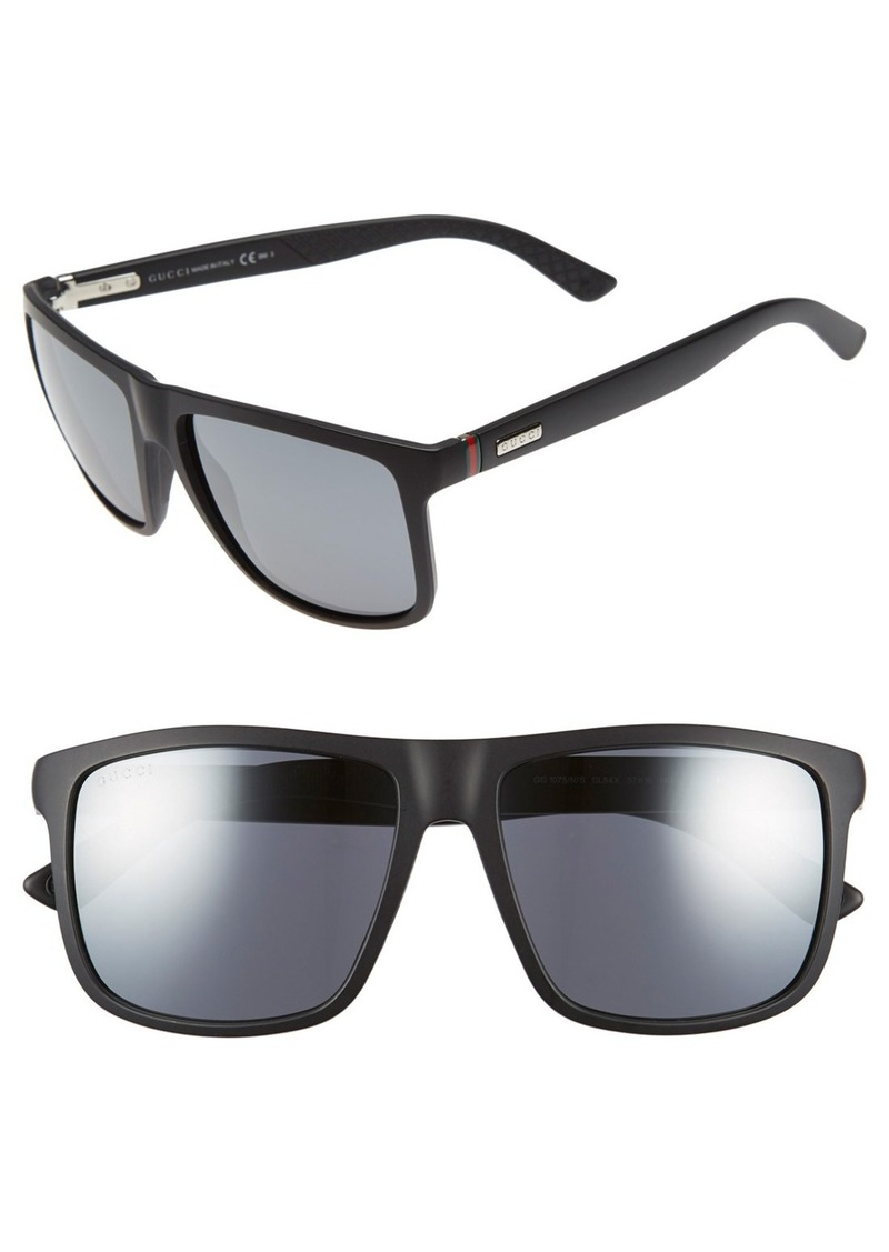 Gucci 57mm Sunglasses