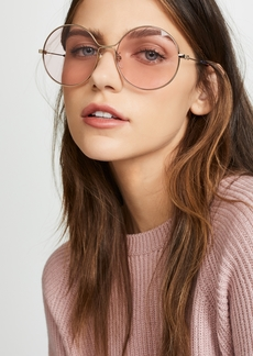 Gucci 80's inspired Round Shape Sunglasses