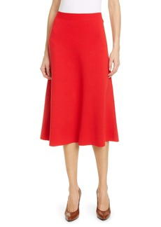 Gucci A-Line Wool Sweater Skirt