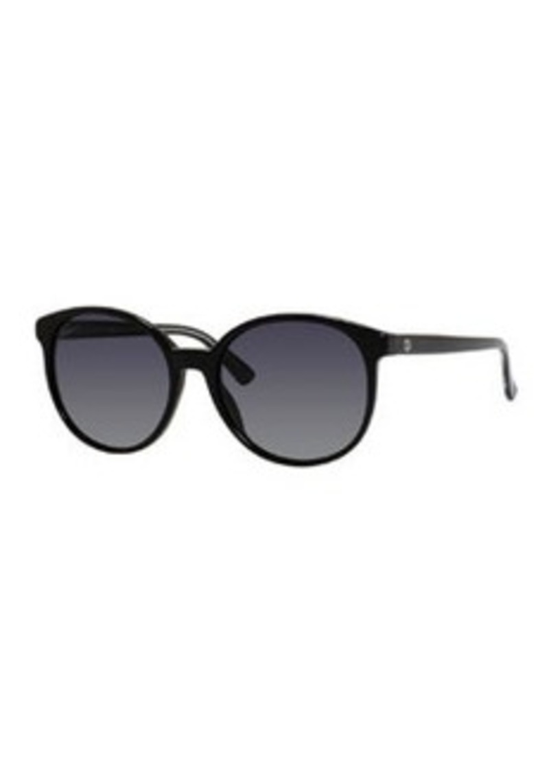 Gucci GG-Temple Round Butterfly Sunglasses