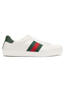 Gucci Ace leather trainers