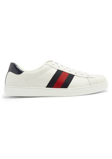 Gucci Ace low-top leather trainers