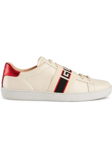 Ace sneaker with Gucci stripe