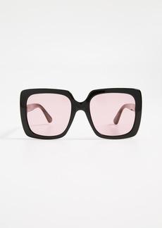 Gucci Acetate Square Sunglasses