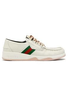 Gucci Agrado leather boat shoes