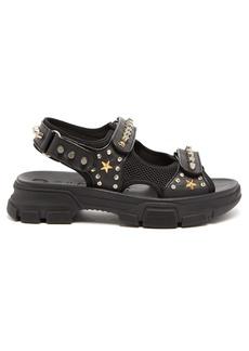 Gucci Aguru stud-embellished leather sandals