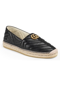 Gucci Alejandro Quilted Espadrille (Men)