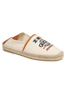 Gucci Alejandro Worldwide Convertible Espadrille Flat (Men)