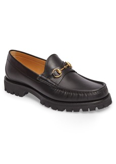 Gucci Alfons Lug Bit Loafer (Men)