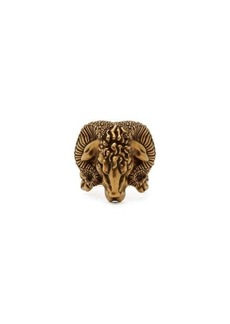 Gucci Aries engraved ring