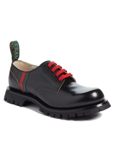 Gucci Arley Plain Toe Derby (Men)
