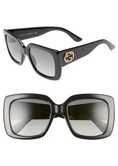 Gucci Avana 53mm Square Sunglasses