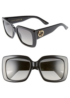 Gucci Avana 53mm Square Sunglasses