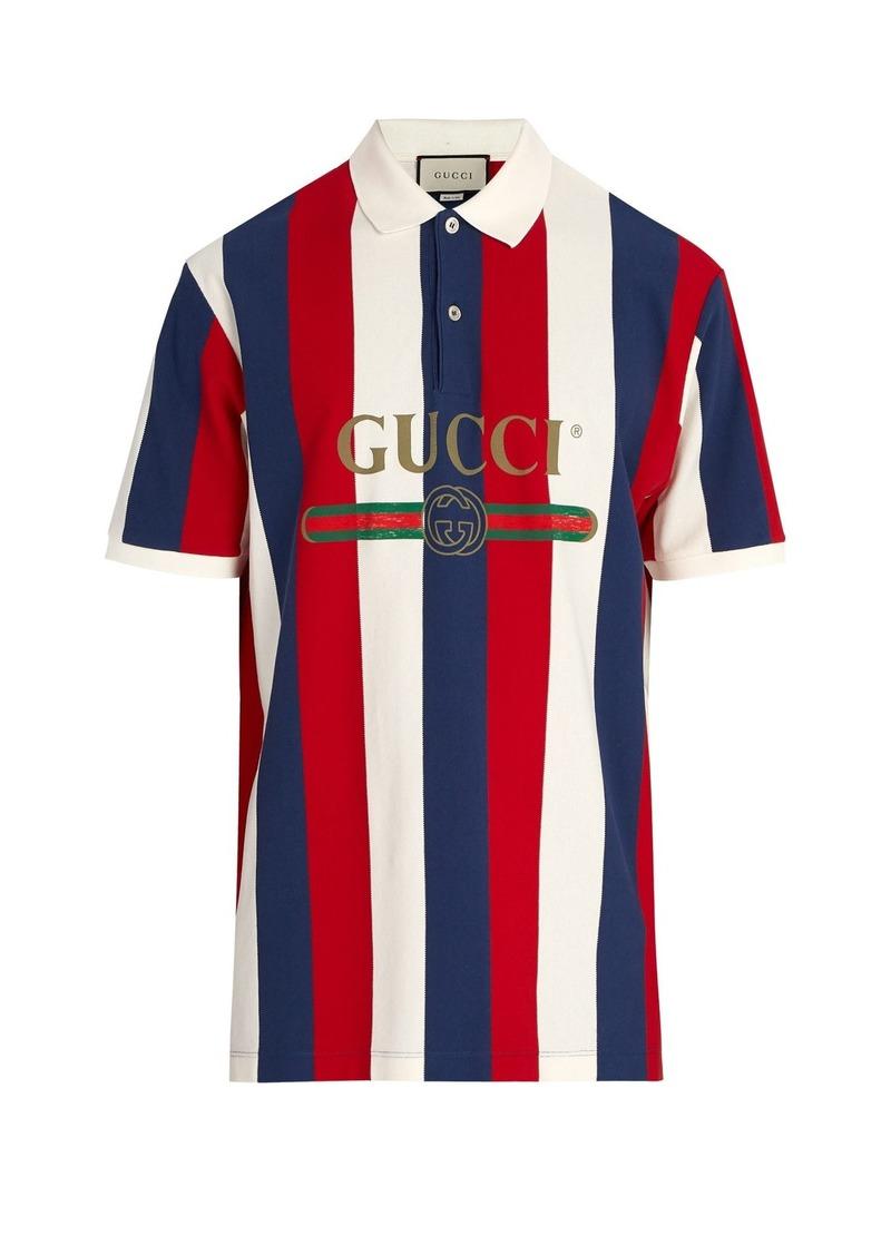 e42f73e6 Gucci Gucci Baiadera stripe polo shirt | Casual Shirts