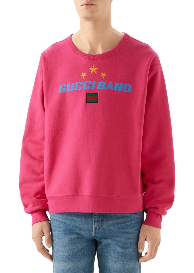 Gucci Band Print Sweatshirt