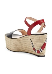 4ec080c4f70be Gucci Gucci Barbette Espadrille Wedge Sandal (Women)
