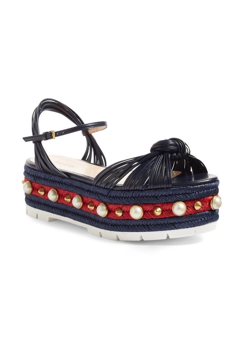 7b915b934bdf Gucci Gucci Barbette Platform Sandal (Women)