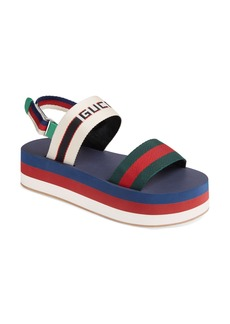 Gucci Slingback Flatform Sandal (Women)